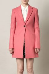 Balenciaga Le Monsieur Loden Wool Coat