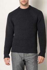 Gucci Chunky Knit Sweater - Lyst