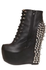 Jeffrey Campbell 160mm Calf Studded Boot Wedges - Lyst