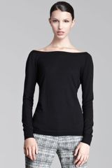 Lela Rose Vback Sweater - Lyst