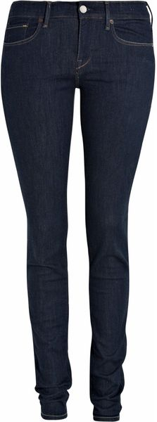 Levi's Empire Midrise Skinny Jeans in Blue (denim) - Lyst