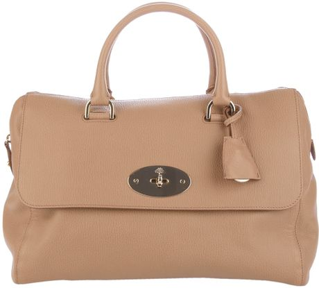 Mulberry Delrey Tote in Beige (nude) - Lyst
