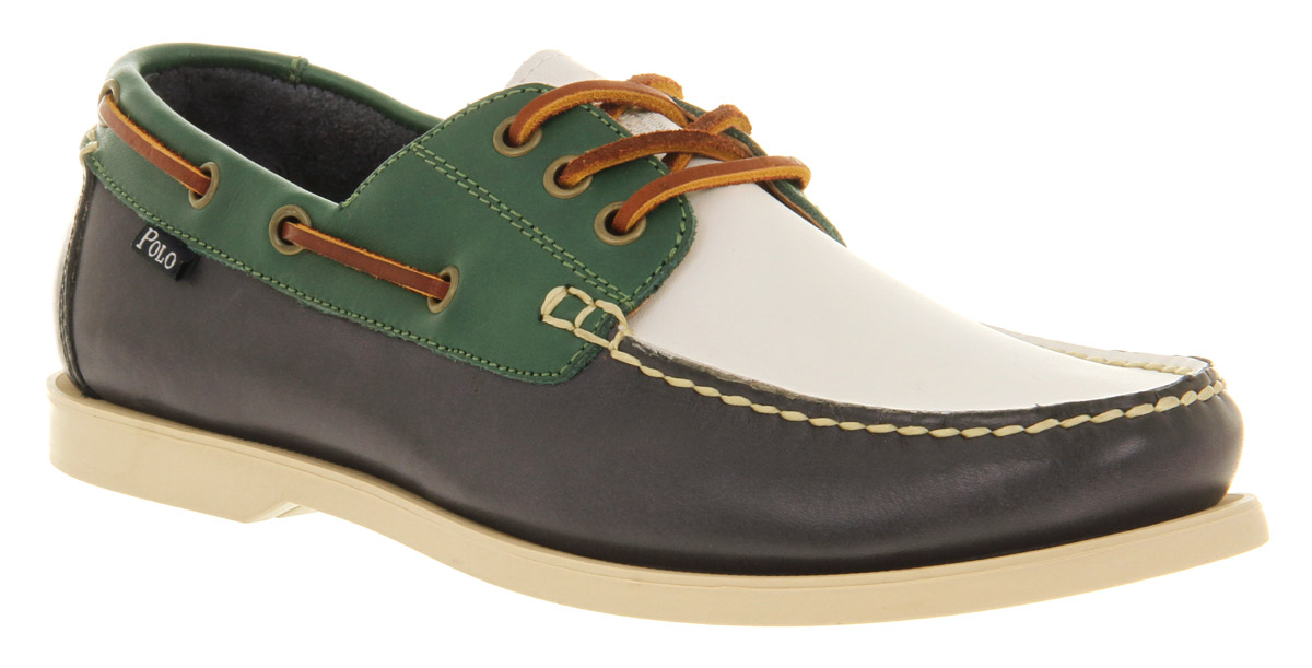 4abcfb70e  POLO Ralph Lauren men size 8.5 brown leather boat shoes NEW IN BOX  RalphLauren visit our ebay store at http   stores.ebay.com esquirestore