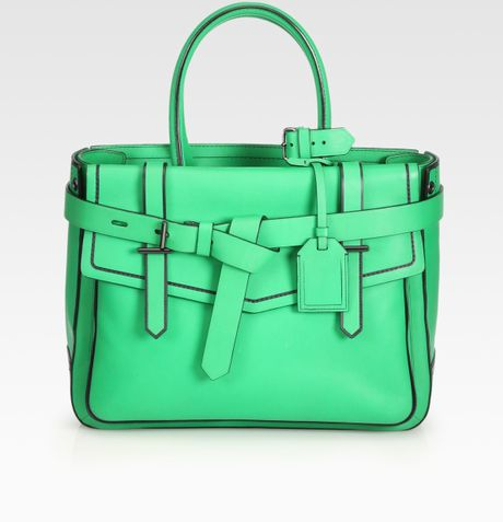 Reed Krakoff Leather Bag in Green