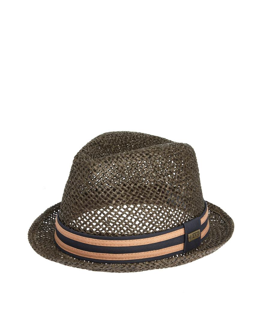 ed14b09f4e0 Lyst - Vans Fedora Hat in Brown for Men