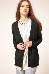 ASOS Collection Asos Cardigan with Heart Elbow Patch - Lyst
