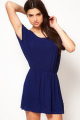Asos Collection Asos Easy Tunic in Blue (navy) - Lyst