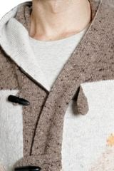 Ballantyne Cashmere Silk Blend Knitted Cardigan - Lyst