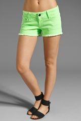Black Orchid Denim Shorts - Lyst