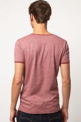 Diesel Tfebrusa Mowhawk Tshirt in Red for Men - Lyst
