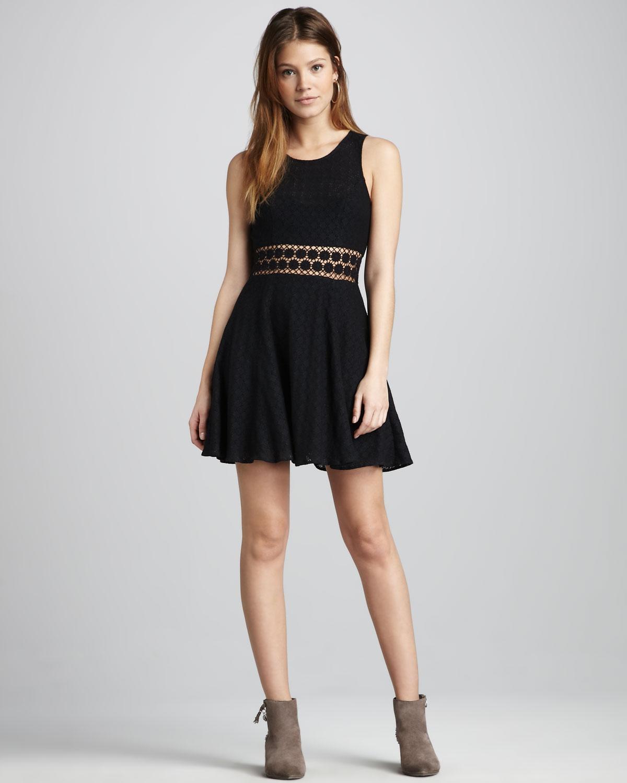 Free People Daisy Lace Dress In Black Lyst