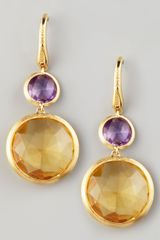 Marco Bicego Jaipur Drop Earrings - Lyst