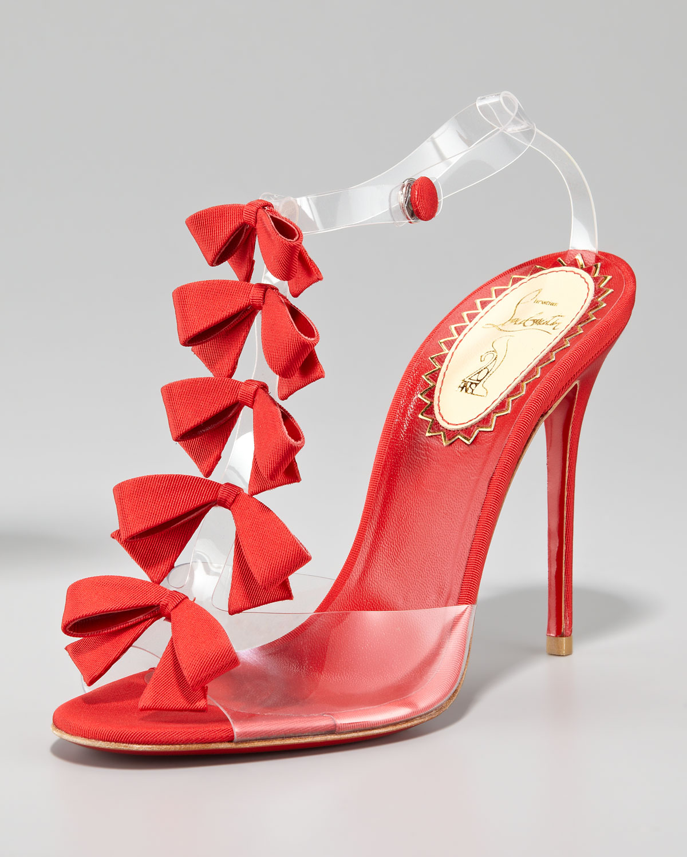 christian louboutin embellished patinana sandals - Bavilon Salon