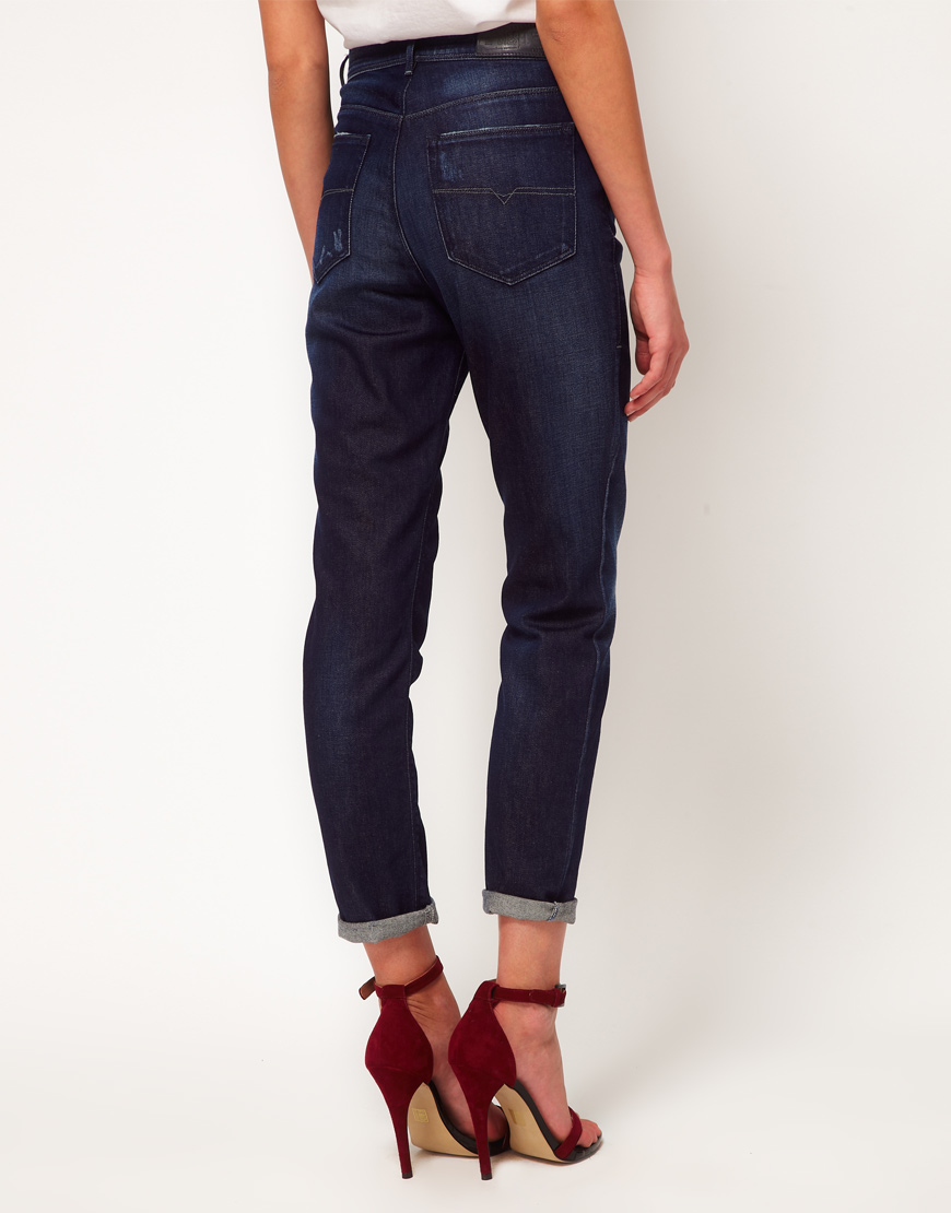 Diesel 40's high waisted skinny jeans