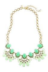 J.Crew Cabochon Fan Necklace - Lyst