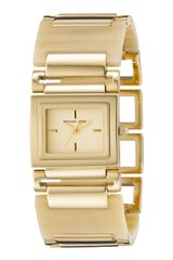 Michael Kors Horn Bracelet Golden Watch - Lyst