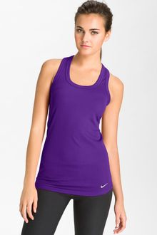 Nike Tight Chill Poly Legend Ribbed Tank - Lyst