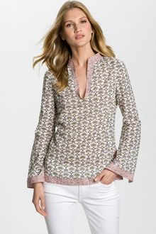 Tory Burch Stephanie Print Tunic - Lyst