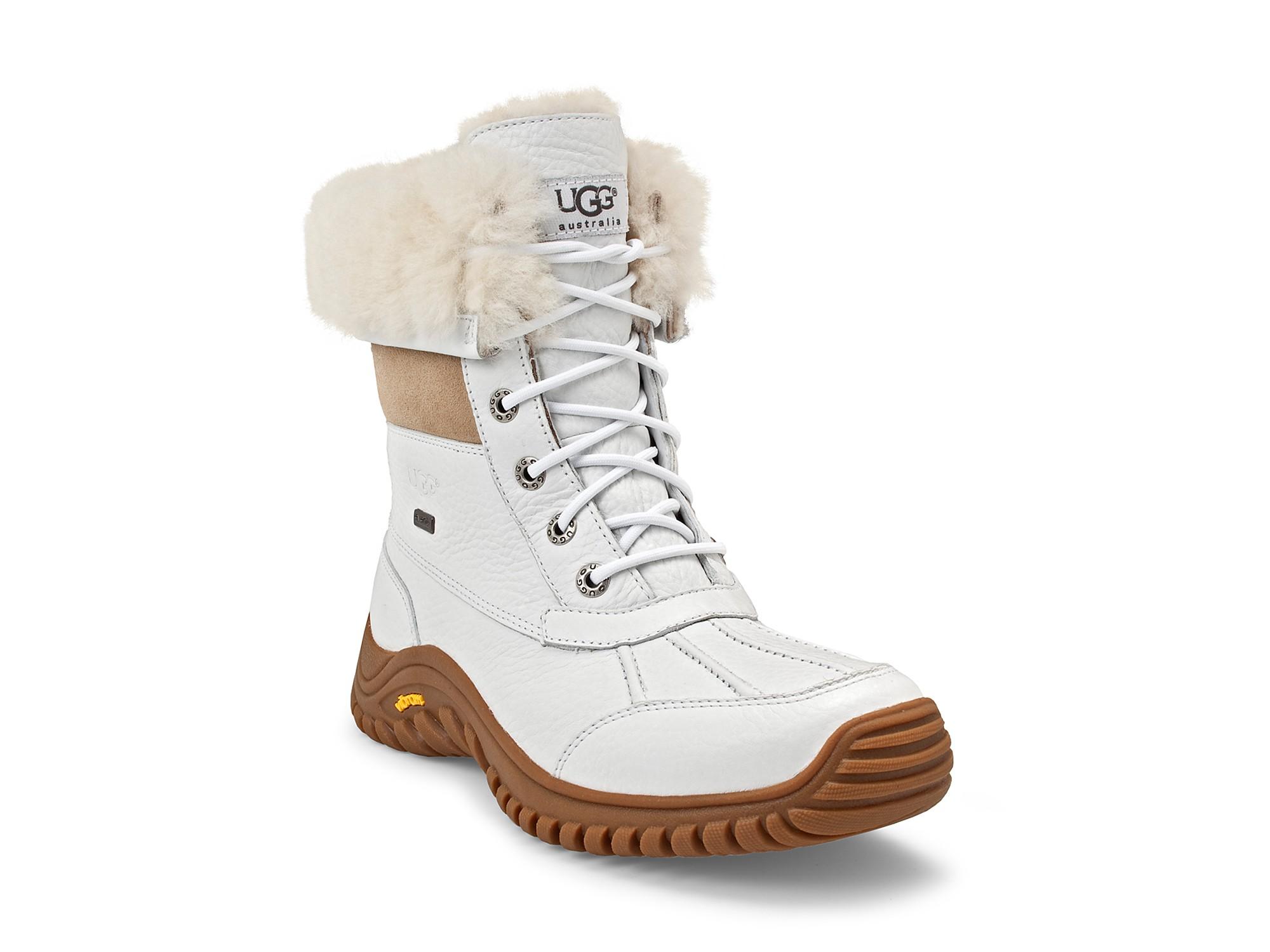 inexpensive lyst ugg adirondak snow boots in white b0f7f 5b55c 8ee30c9c29e2a