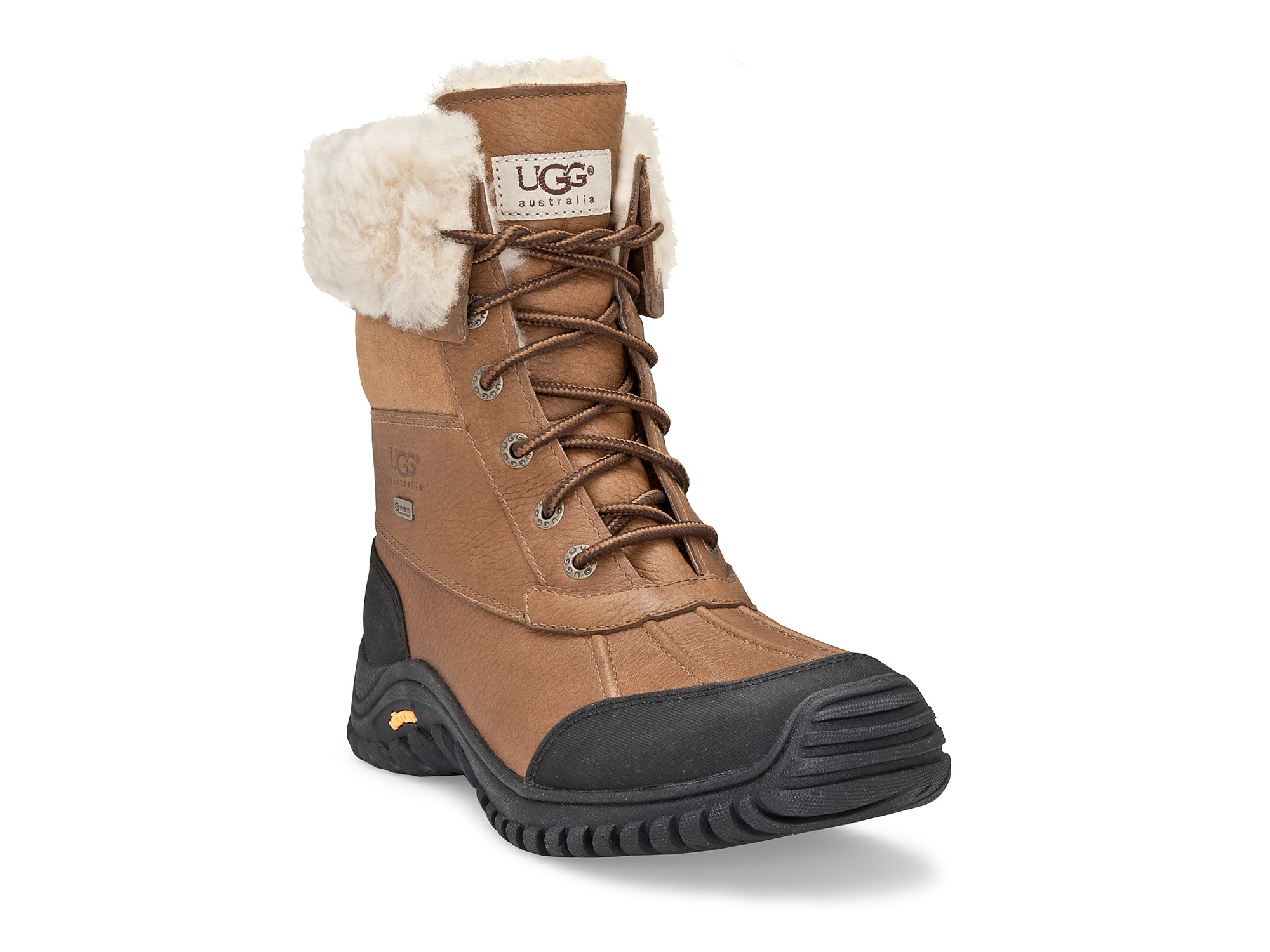 ugg adirondak snow boots in white lyst. Black Bedroom Furniture Sets. Home Design Ideas