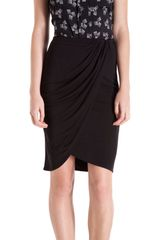 10 Crosby by Derek Lam Wrap Skirt - Lyst