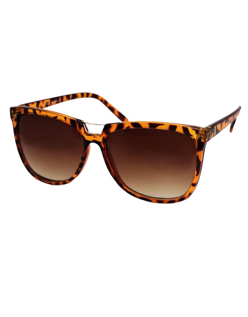 Naturalizer Sunglasses  asos collection asos bridge detail cats eye sunglasses lyst