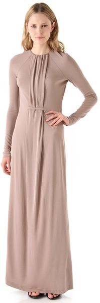 Calvin Klein Earline Maxi Dress - Lyst