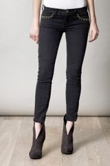 Current/Elliott The Stiletto Low Rise Skinny Jeans - Lyst