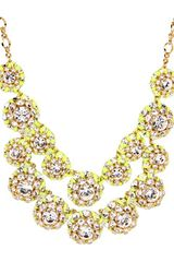 Kate Spade Hip Stitch Bib Necklace