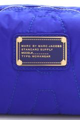 Marc By Marc Jacobs Pretty Nylon Small Cosmetic Case in Blue - Lyst