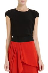 Narciso Rodriguez Cutout Back Top - Lyst