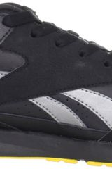 Reebok Mens Record Mile Sneaker in Black for Men (black/grey/pewter/sunsprite) - Lyst