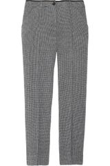 See By Chloé Cropped Stretch Wool Straight Leg Pants - Lyst