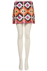 Topshop Premium Aztec Sequin Skirt in Multicolor (multi) - Lyst