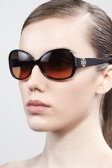 Tory Burch Large Butterfly Sunglasses - Lyst