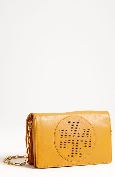 Tory Burch Kipp Crossbody Bag in Yellow (mustard) - Lyst