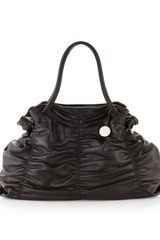 Furla Carmen Extralarge Shopper Black - Lyst