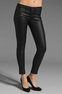 Rag & Bone Legging With Zippers - Lyst