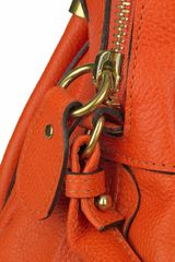 Chloé Paraty Small Leather Bag in Orange - Lyst