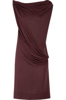 Vivienne Westwood Red Label Draped Jersey Dress - Lyst