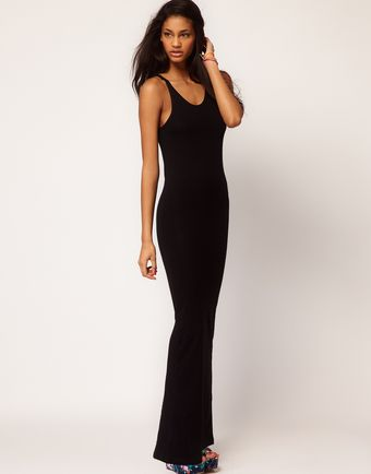 ASOS Collection Asos Maxi Dress With Back Split - Lyst