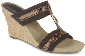 Etienne Aigner Whitcomb Wedge Sandals - Lyst