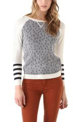 Gryphon Dots Crew Neck Top - Lyst