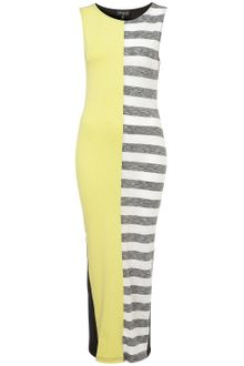 Topshop Reclaim To Wear Stripe Maxi Dress - Lyst