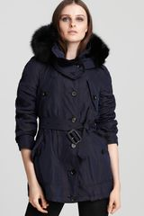 Burberry London Raincoat Barningham Hooded - Lyst
