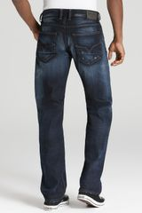 Diesel Larkee Relaxed Straight Leg Jeans in Blue for Men (dark rinse) - Lyst