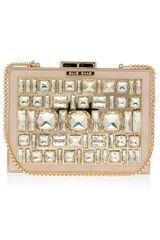 Elie Saab Box Crystal Clutch Bag