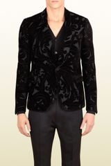 Gucci Salon Jacquard Dandy Evening Jacket - Lyst