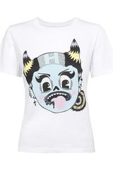 House Of Holland Girl Punk Tshirt - Lyst