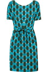 Jonathan Saunders Evelyn Printed Cottonblend Dress - Lyst